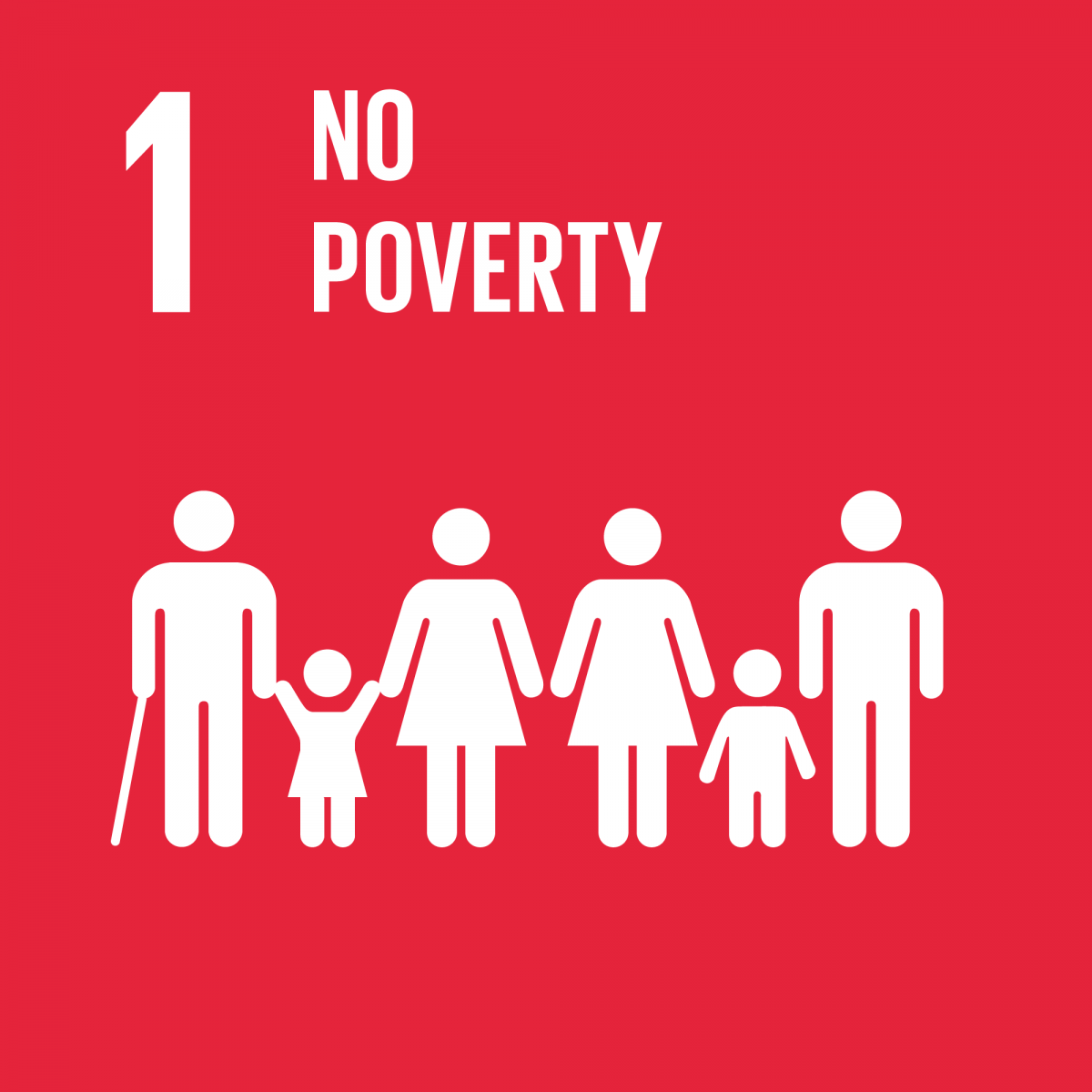 End poverty icon