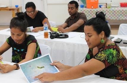 Capacity building in Kiribati