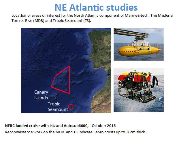 NE Atlantic studies