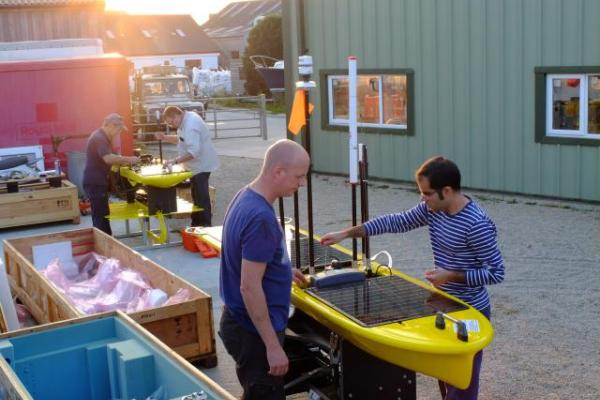 Working on the Wavegliders