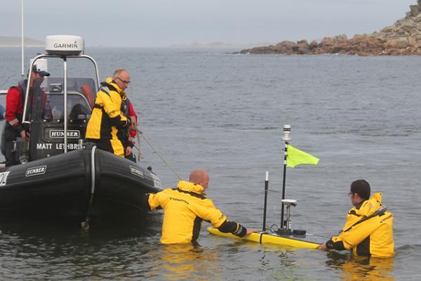 Deploying the Waveglider