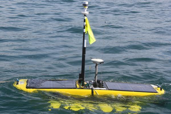 The Waveglider successfully deployed