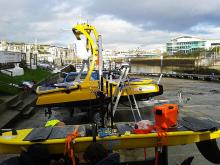NOC Waveglider and C-Enduro in Plymouth Harbour