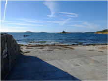 The slip at Porthloo