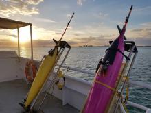 Testing Iridium communications on Seagliders (MerMEED 2017)