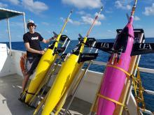 Seaglider setup (MerMEED 2017)