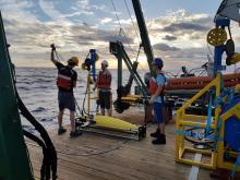 Preparing for Seaglider deployment (MerMEED 2017)