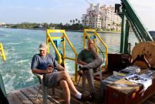 Returning to Miami home port of the R/V Walton Smith (MerMEED 2016)