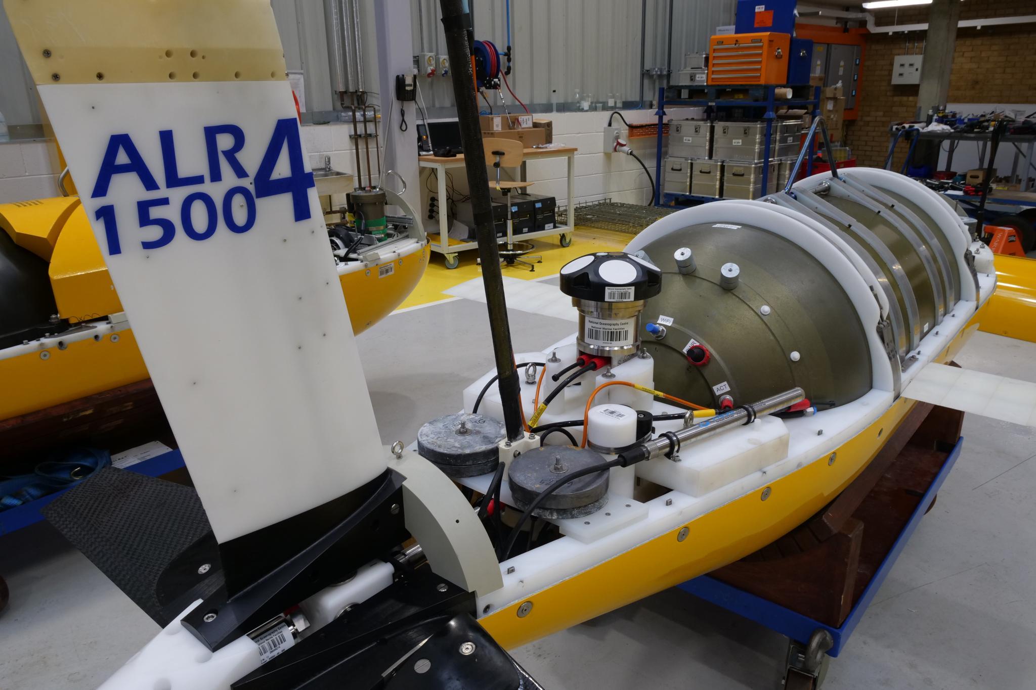 ALR4 in MARS workshop