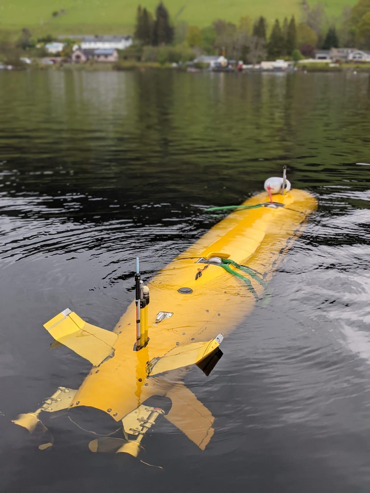 A2KUI underwater in Loch Ness