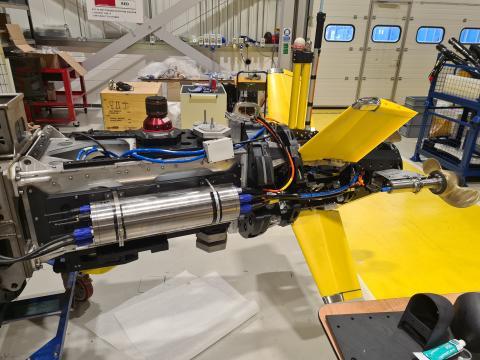 Autosub A2KUI thruster testing