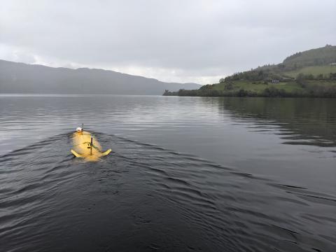 A2KUI in Loch Ness