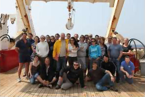 June 1st 2010 – Scientists and Engineers at the PAP site on board the RRS James Clark Ross